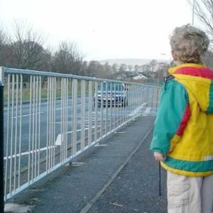 Pedestrian Guard Railing